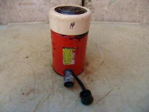 Spx Power Team C554c Single Acting Hydraulic Cylinder 55 Ton Works Great 14