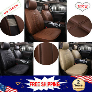 Front Pu Leather Car Seat Cover Auto Seat Protector Cushion Pad Mat Universal De