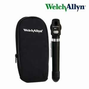 Welch Allyn 2 5v Led Ophthalmoscope Aa Handle 12870 Black Pocketscope