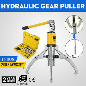 15t Hydraulic Bearing Gear Puller Wheel 15t With Box Integral Type 2 Or 3 Jaws