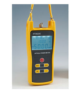 Handheld Optical Power Meter Wavelength Range 800 1600nm Power 30 To 20 Dbm
