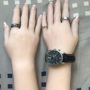 Silicone Female Hands Mannequin Hands Ring Display Finger Bone Structure A580