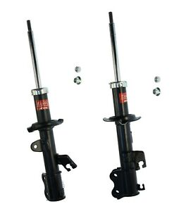 2 Kyb Front Left Right Struts Shocks Absorbers Damper Assembly For Nissan Versa