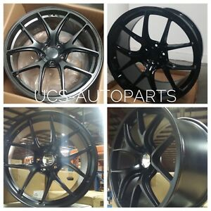 20 Staggered Wheels Fits Infiniti Mustang Honda 4 New Rims