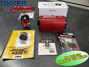 Aeromotive 11101k1 A1000 Fuel System Kit Pump Regulator Gauge Relay And Cb