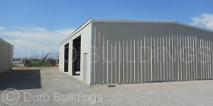 Durobeam Steel 60x125x16 Metal Commercial Clear Span Rigid Frame Building Direct