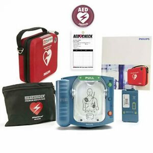 New In Box 2018 Philips Heartstart Onsite Aed M5066a 8 Year Factory Warranty