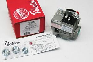 Robertshaw 720 400 Commercial Cooking Dual Gas Valve 24v