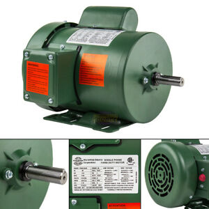 3 4 Hp Single Phase Farm Duty Electric Motor 56 Frame 1800 Rpm Tefc Enclosure