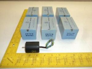 Lot Of 6 G m Laboratories 665 52 4 Precision Servo Motors 2ph 115v 5200rpm 400fr