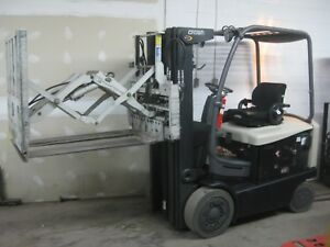 Crown Fc4525 40 Electric 4 Wheel Sit Down Forklift W cascade Push pull At