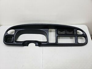 1999 2000 2001 Dodge Ram Dash Bezel Speedometer Surround Trim Cap Cover Oem