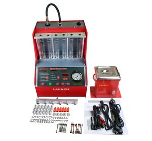 Launch Cnc602a Car Fuel Injector Cleaning Machine Ultrasonic Fuel Injector Clean