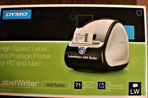 Dymo Labelwriter 450 Turbo Label Thermal Printer pre owned 8344