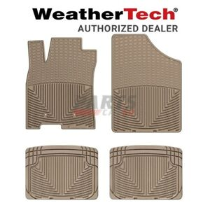 Weathertech All Weather Floor Mats Rubber Fits 2006 2011 Cadillac Dts Tan