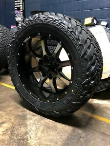 20x10 Moto Metal Mo970 33 Fuel Mt Wheel Tire Package 6x135 Ford F150 Expedition