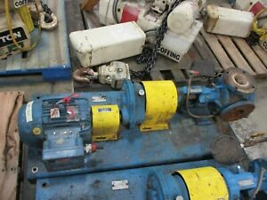Viking Pump Kk4125 04 3hp Motor Used