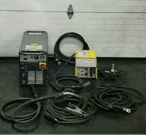Esab 4hd Mig Trailer Fabrication Extension Welder Mts 3500i 1 3 Phase