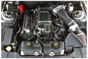 20k 2014 Roush 2300 Supercharged Ford Mustang Gt Coyote 5 0 Engine Manual Kit