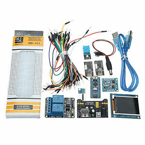 Nano V3 Climate Monitor Kit With 1 8 Inch Tft Gy 68 Bmp180 Dht11 Rtc Relay Modul
