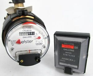 New Elster Amco C700 5 8 X 3 4 Direct Read Bronze Water Meter With Remote