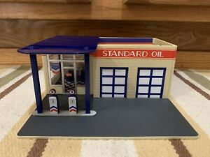 Standard Oil Service Station Decor Plastic Gas Pump Garage Bar Ford Display