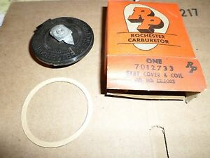 1958 Cadillac Nos Carburetor Choke Stat Cover Coil Assembly