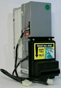 Mars Mei Vn2512u5 Dollar Bill Acceptor Validator 24v mdb Supplied With Mdb Cable