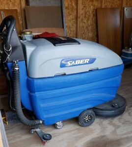Windsor Saber 20 Walk Behind Floor Scrubber pad Driven Cleaner Will Ship