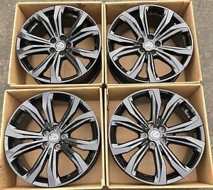 20 Lexus Rx350 Rx450h Wheels Rims Gloss Black Factory Oem 20 Rx Stock 74338