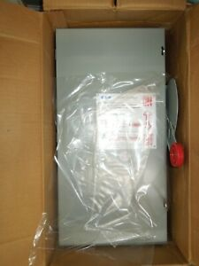Eaton Dh363ugk Heavy Duty Non fusible Safety Switch 100a 3w 600v Type 1 Encl New