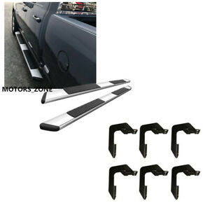 For 2019 Dodge Ram 1500 Crew Cab Alumium Running Board 6 Oe Style Side Steps