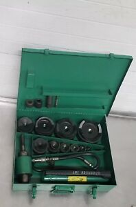 Greenlee 7310sb Hydraulic Knockout Punch Set 1 2 To 4 7310 Slug Buster 9