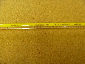Precision 293 402f Thermometer Astm 68f Thermco 79938