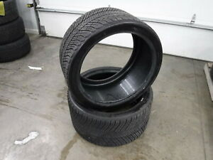 2 Tires Michelin Pilot Alpin 295 30 20 8 32nds 8593644