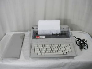 Brother Gx 6750 Daisy Wheel Electronic Typewriter Correctronic Great Condition