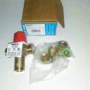 Watts Lf1170m2 us 1 2 Lead free Hot Water Temperature Control Valve Free Ship