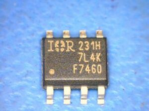 40 pcs Transistor Mosfet N channel 20v 12a 8 soic Ir Irf7460 7460