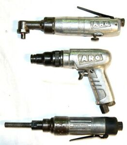 Aro Pneumatic Aircraft Tool Lot Right Angle Air Tools Aro Tool Products