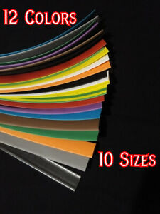 Heat Shrink Tubing 12 Colors To Choose From 3 64 To 1 5 I d Pick And Choose