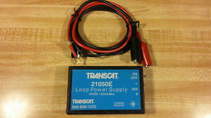 Transcat 21050e Loop Power Supply 24v Dc W lead Cord