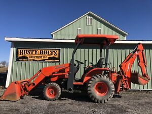 2013 Kubota B26 Hst 4x4 Compact Tractor Loader Backhoe Low Hours Clean Tlb