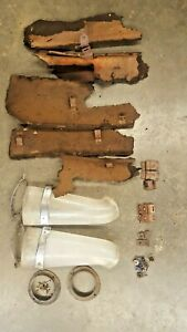 1955 Cadillac Fleetwood Air Conditioning Ducts Brackets Cardboard Patterns
