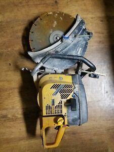 Husqvarna Partner K950 Concrete Saw Untested Asis For Part Or Fix Free Ship