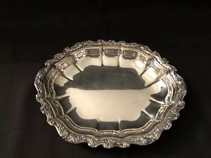 Countless International Silver Company 8 Inch Silver Plate Candy Dish