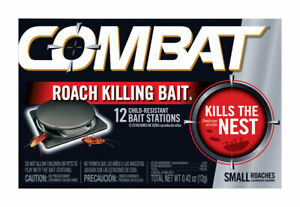 Combat Small Roach Bait Boxed Pack Of 12