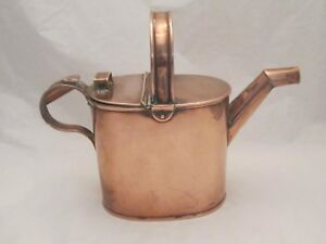 A Fine Antique Copper Watering Can C1900