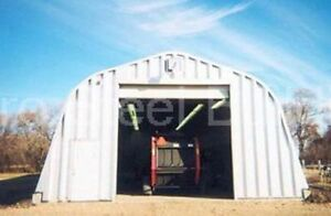 Durospan Steel A30x40x14 Metal Garage Building Structure Workshop Factory Direct