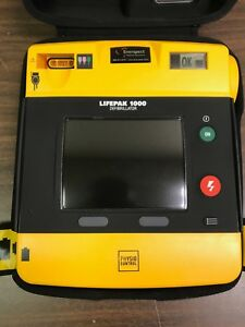 Physio control Lifepak 1000 Aed Graphical Display Biomed Certified