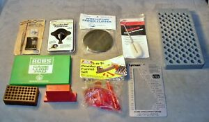 Shooter-Cartridge Reloading & Other Supplies-Case Gauge-Scale Check Set-Funnels